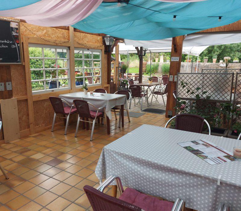 Gasthaus Zur Ortmühle Terrasse